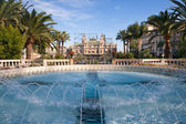 Fountain of Monte Carlo, Monaco — Stock Photo