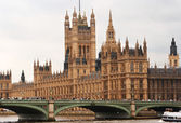 Houses of Parliament. London, England — Stockfoto