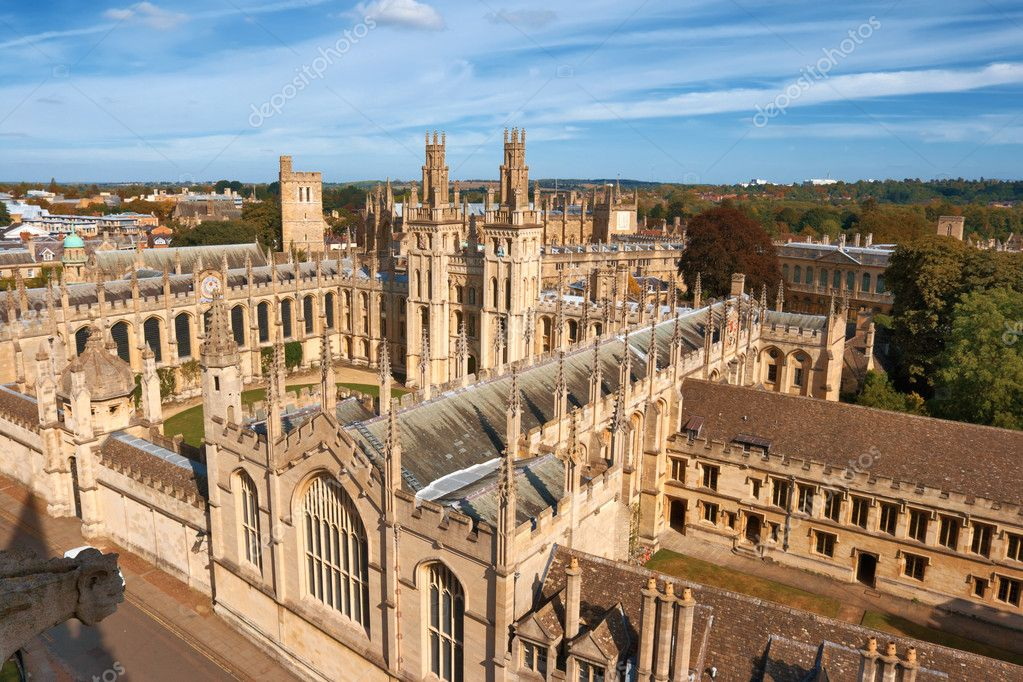 All Souls College, Oxford University. Oxford, UK — Stock Photo #2229379
