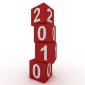 New Year 2010 — Stock Photo