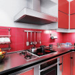 Royalty-Free Stock Photo: Red Kitchen