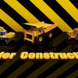 Unique Render of Under Construction Sign — Stock Photo #1722540