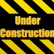 Unique Render of Under Construction Sign — Stock Photo #1722598