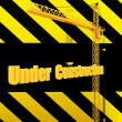 Unique Render of Under Construction Sign — Stock Photo #1722616