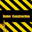 Unique Render of Under Construction Sign — Stock Photo #1722669