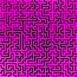 Royalty-Free Stock Photo: Simple pink maze