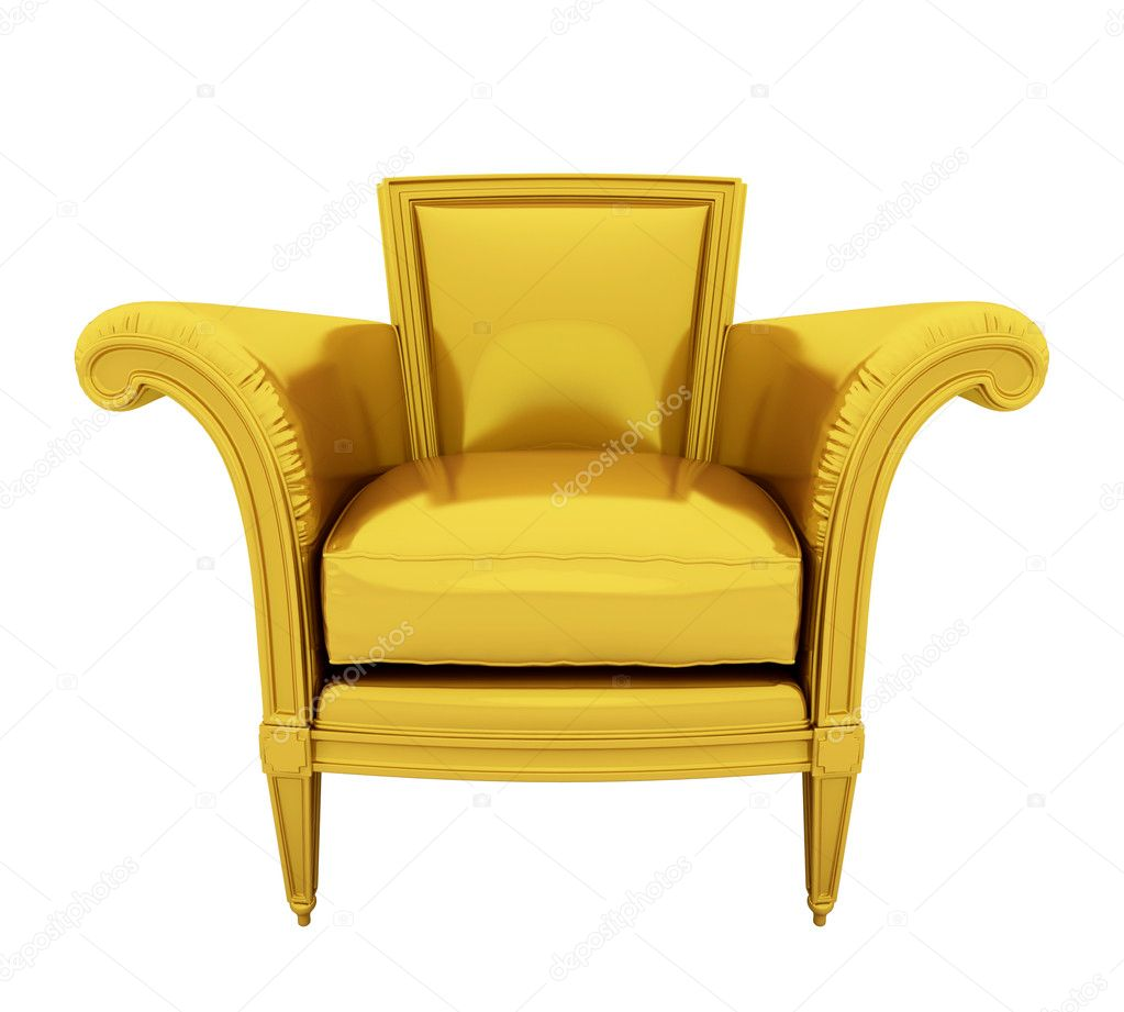 Retro Luxury Gold Chair Stock Photo 169 Ericmilos 1995891