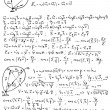 Mechanics and mathematics formulas — Vecteur #2007121