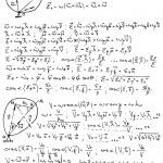 Mechanics and mathematics formulas — Stock Vector #2007121