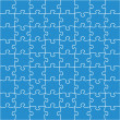 Beautiful jigsaw puzzle - Stock Vector