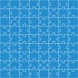 Vecteur: Beautiful jigsaw puzzle