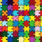Beautiful jigsaw puzzle — Stock Vector #2007295
