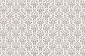 Seamless Damask wallpaper — Vetor de Stock