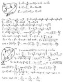 Mechanics and mathematics formulas — Wektor stockowy