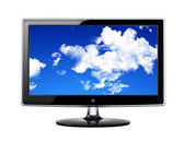 液晶画面のテレビ — ストック写真