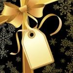 Christmas gift — Stock Vector