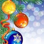 decoración de Navidad — Vector de stock