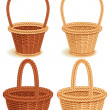 Baskets - Stock Vector