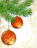 Christmas decor — Stock Vector
