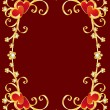 Royalty-Free Stock Vector Image: Valentine\'s day border