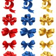 Vector de stock : Bows