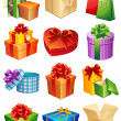 Gifts - Imagens vectoriais em stock
