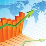 Unternehmenswachstum — Stockvektor