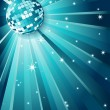 Royalty-Free Stock 矢量图片: Disco ball