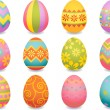Royalty-Free Stock Imagen vectorial: Easter egg