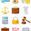 Stock Vector: Finance icon