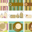 Royalty-Free Stock Vector Image: Vector Scrapbook set