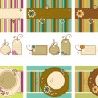Vector Scrapbook set - Stock Vector