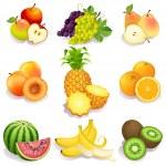 水果 — 图库矢量图片