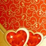 Hearts 1 — Stock Vector