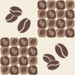 Stock Vector: Coffee bean