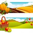 harvest — Stock Vector