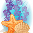 Royalty-Free Stock Vector Image: Sea bottom