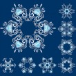 Snowflakes — Stock Vector #2014001