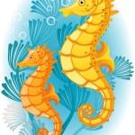 Seahorse — Stock Vector #2014162