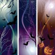 Royalty-Free Stock Vector Image: Halloween banner