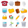 Royalty-Free Stock Vector Image: Office icon
