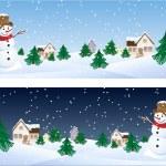 Snowman — Stock Vector #2014636
