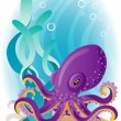Stock Vector: Octopus