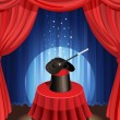 Magic show - Stock Vector