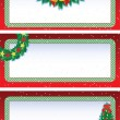 Stock Vector: Christmas banners