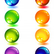 Royalty-Free Stock Vector Image: Glass button