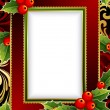 Christmas frame — Stock Vector #2015214