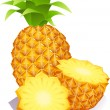 Royalty-Free Stock Vectorielle: Pineapple