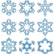 Snowflakes — Stock Vector #2015261