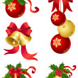 Christmas ornament - Stockvectorbeeld